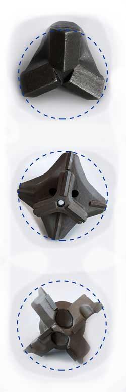 Bohrkronen Durchmesser